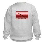Dont Tread on Me Flag Sweatshirt